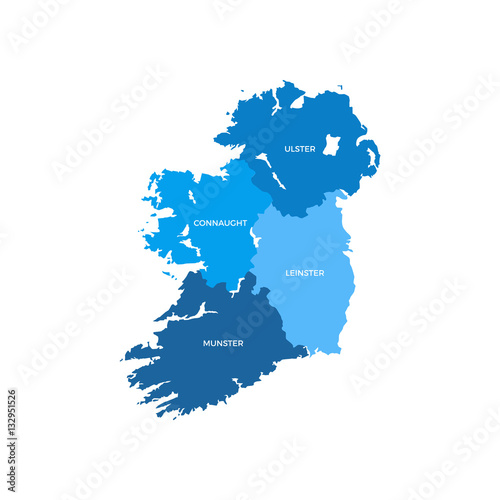 Ireland Regions Map | Buy Photos | AP Images | DetailView