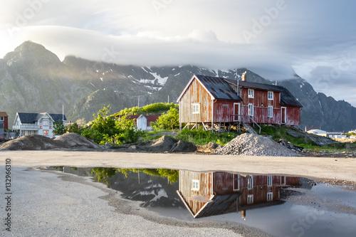 Poster Maisons norvège