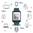 internet of things icons vector illustration design
