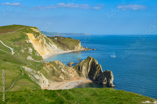 Poster Durdle Door and the Jurassic Coast