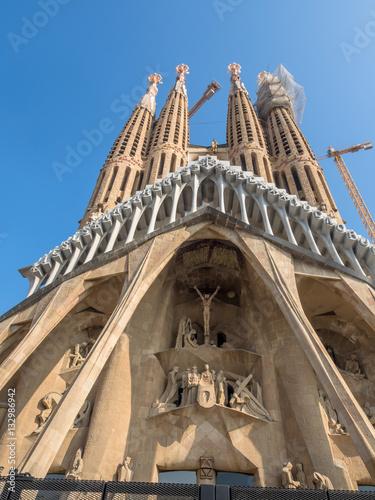 Poster Spanien, Barcelona, Sagrada Familia