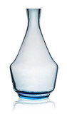 Blue carafe without stopper