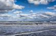 The New Jersey shore Atlantic Ocean at Manasquan NJ