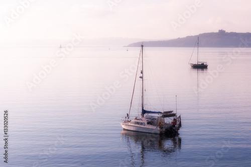 Poster Boats at St Mawes