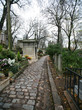 Cobblestone Walkway in Père Lachaise Cemetery