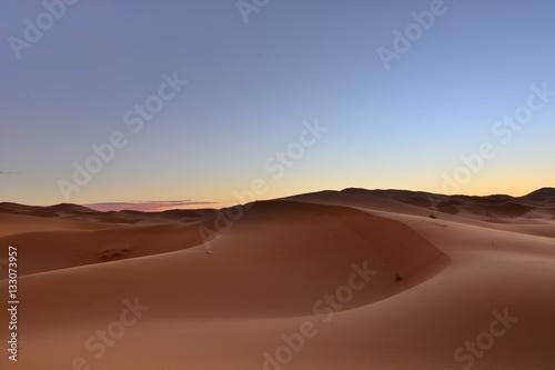 Poster Amanecer en el Desierto