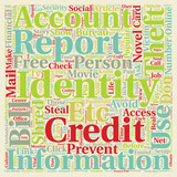 Identity Theft You Can Prevent It text background wordcloud concept