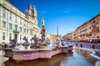 Quadro Piazza Navona, Rome, Italy
