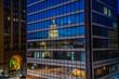 Downtown Lansing Michigan Reflection
