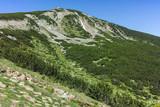 Panorama around Bezbog peak, Pirin Mountain, Bulgaria