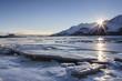 Icy Chilkat Sunset
