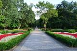 Park w Świnoujściu/Park in Swinoujscie, West Pomerania, Poland