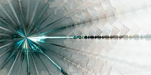 Abstrakter dekorativer Hintergrund, Panoramaformat