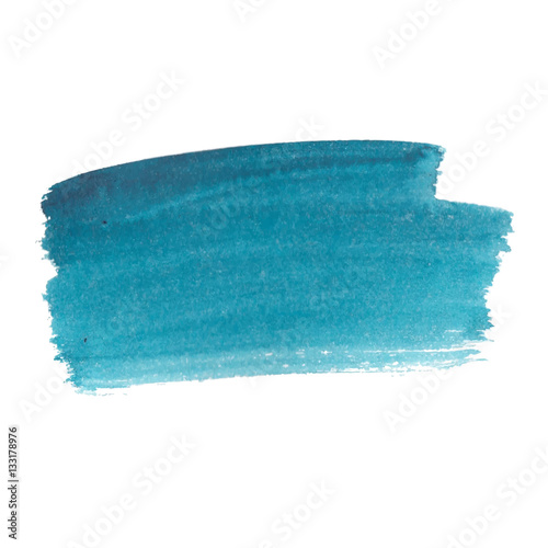 Abstract watercolor brush strokes painted background.