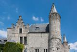 Burg Steen am Scheldeufer in Antwerpen