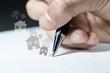 mani, appunti, comunicazione, scrivere