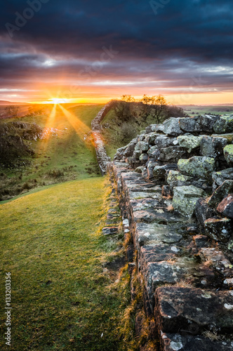 Poster Hadrian's Wall, Northumberland