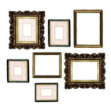 Picture Frames - Watercolor Illustration.