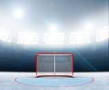 Ice Hockey Goals In Stadium