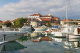 View of Marina Kalimanj  in Tivat, Montenegro