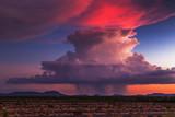 Sunset storm clouds - 133225330