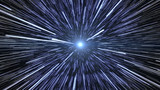 Fototapety Hyperspace Stars Travel
