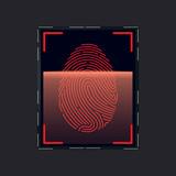 Mobile fingerprint sensor