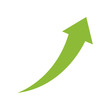 Success arrow up icon vector illustration graphic design