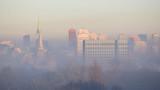 Łódź w smogu. Polska. - 133250589