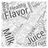 smoothie recipes Word Cloud Concept