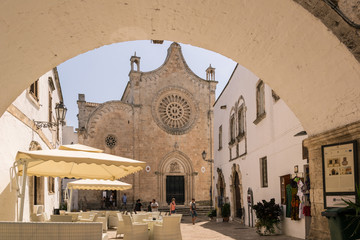 Cathedral in Ostuni, Puglia Italy. © isaac74