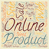 Steps to an Effective Online Business text background wordcloud concept