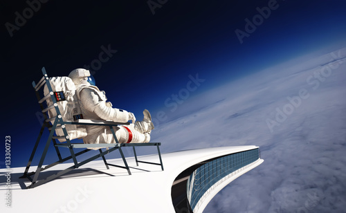 Foto op Aluminium Nasa The astronaut