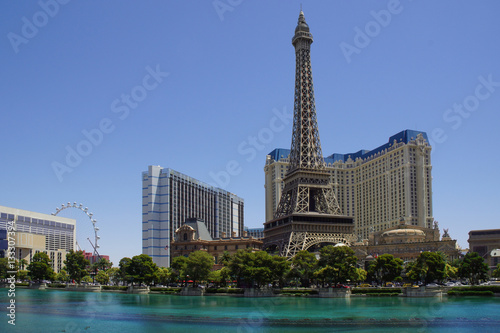 Poster Las Vegas Eiffelturm