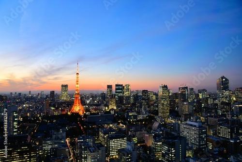Poster 東京の風景
