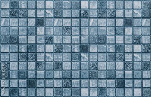 Fototapeta abstract mosaic texture tiles