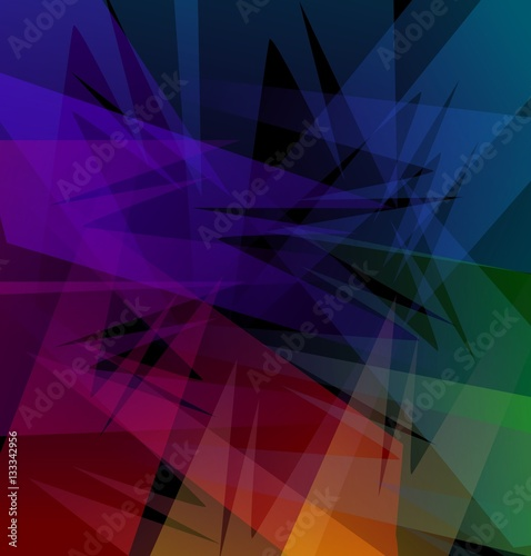 Bright colored background, computer graphics.