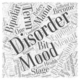 What is a Mood Disorder Word Cloud Concept