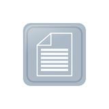 sheet document symbol icon vector illustration graphic design