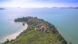 aerial photography at Ao Po  the gateway to spectacular Phang Nga bay could no be more perfectly located