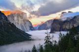 Beautiful view of Yosemite