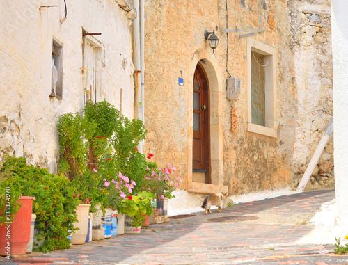 Street in Hersonissos.