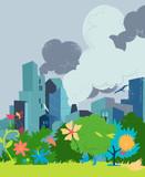 Futuro e ambiente eco sostenibile