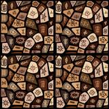 Ethnic symbols pattern