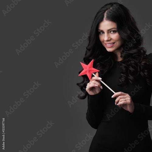 Plakát Woman with magic wand