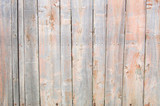 light coral old wooden fence. wood palisade background. planks texture - 133400518