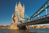 Tower Bridge in London, UK.