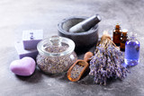 Fototapety lavender spa products
