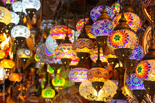 Poster Turkish lamps