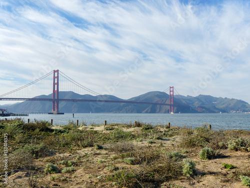 Poster Golden Gate Bridge in San Francisco California Vermont USA